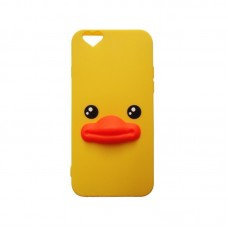 CAPA SILICONE PATO IPHONE 4/4S